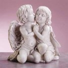 34262 Kissing Cherubs Sculpture