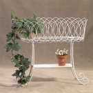 34263 Metal Basket Plant Stand
