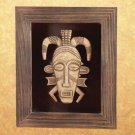 34293 Framed African Tribal Mask