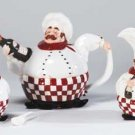 34344 Chubby Chef Tea Set