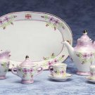 34502 Lavender Floral Mini Tea Set