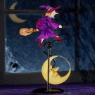 34527 Witch Swinging Sculpture