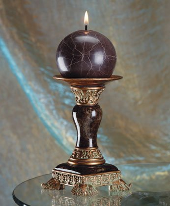 34590 Marble Design Candle Holder