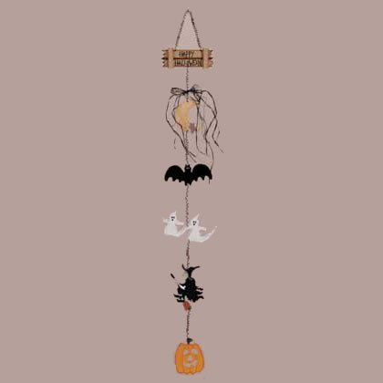 34662 Halloween Wall Plaque
