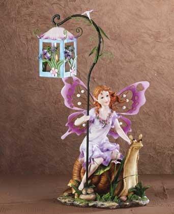 34680 Garden Fairy Candle Lantern