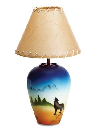34747 Southwestern Design Lamp
