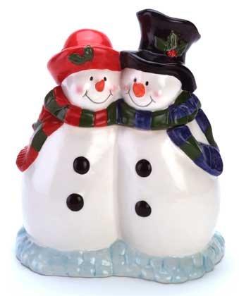 34792 Snowman Cookie Jar
