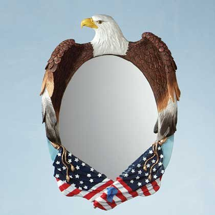34799 American Eagle Wall Mirror