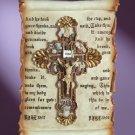 34798 Devotional Scroll Wall Plaque
