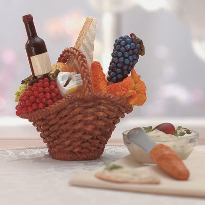 34845 Wine-Cheese Spreaders & Basket Set