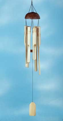 34810 Coconut and Bamboo Wind Chime