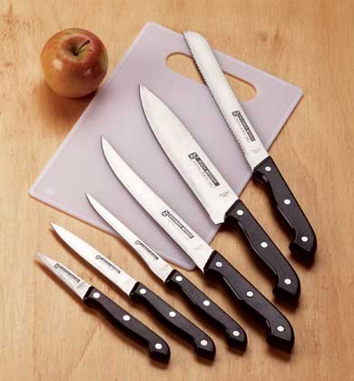 34905 Cutlery and Cutting Board Set