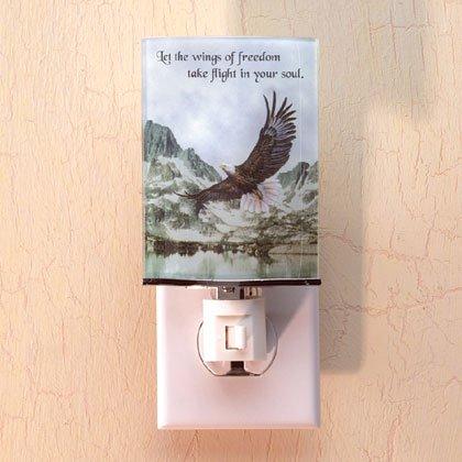 34910 Inspirational Eagle Night Light