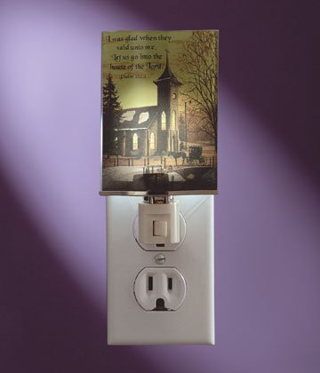 34911 Inspirational Church Night Light