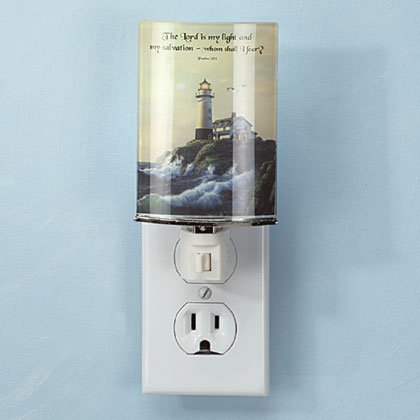 34912 Inspirational Lighthouse Night Light