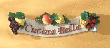 35031 Cucina Bella Wall Plaque