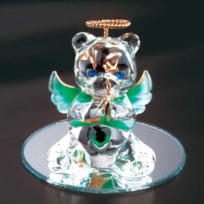 35071 May Glass Angel Bear