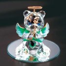 35071 May Glass Angel Bear