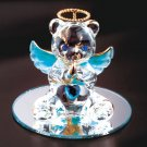 35078 December Glass Angel Bear