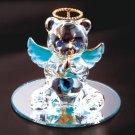35078 December Glass Angel Bear