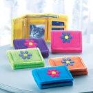 35204 PK 6 Flower Design Wallet (Retail - 4.99ea)
