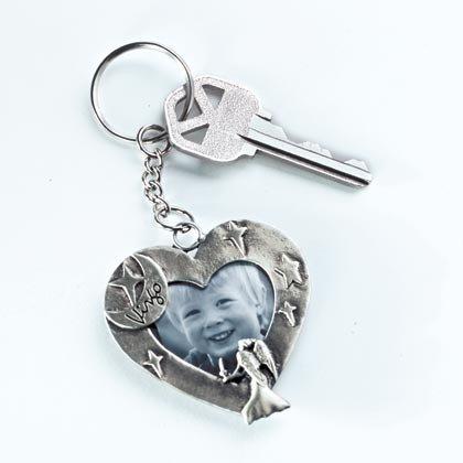 35243 1 DZ Zodiac Keychain With Frame (Retail - 2.99ea)