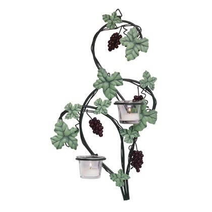 35263 PR Grapevine Wall Sconces