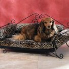 35269 Pet Bed With Leopard Pad