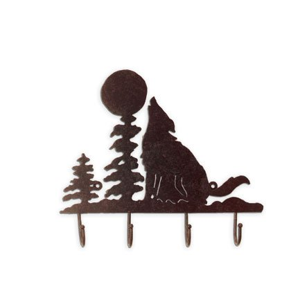 35257 Wolf of the Wilderness Coat Hanger