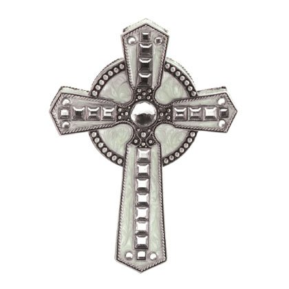 35276 Pewter Rosary Box