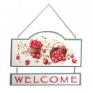35328 Apple Welcome Sign