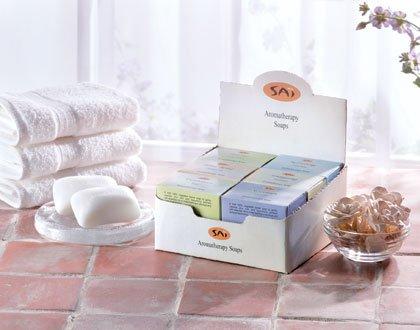 35341 1 DZ Sai Aromatherapy Soaps (Retail - 2.49ea)