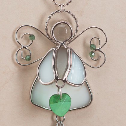 35363 Angel May Birthstone Heart