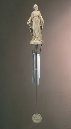 35377 Virgin Mary Wind Chime