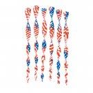 35371 6 American Flag Twirlers (Retail - 4.99ea)
