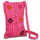 35540 Embroidered Flower Bag