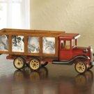 35656 Wood Model Truck Photo Frame