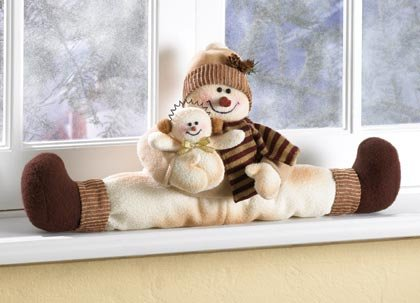 35710 Snowman Window Ornament