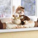 35710 Snowman Window Ornament