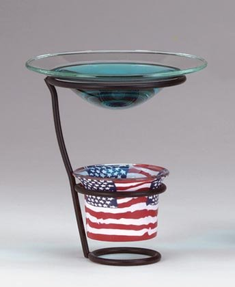 35833 Mini Flag Oil Warmer