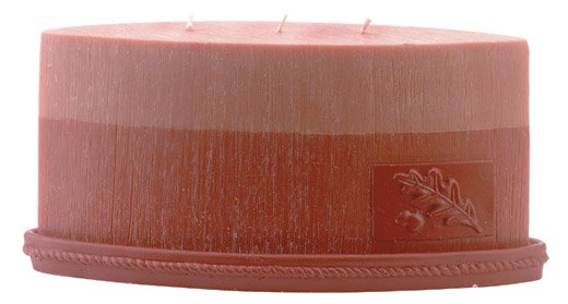 31038 Scented Oval Designer Candle - Orange & Vanilla