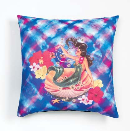 36784 Sublimated Art Pillow -Nymph