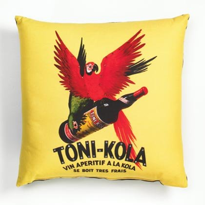 36782 Sublimated Art Pillow -Toni-Kola