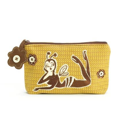 36865 Bee Girl Cosmetic Bag