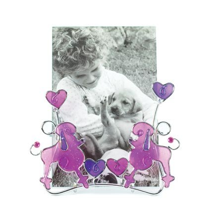 36870 Pink Poodles Wire Frame