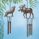 31725 PK 6 Moose and Wolf Windchime (Retail - 4.99ea)
