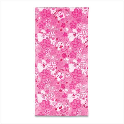 36022 Beach Towel - Pink Princess