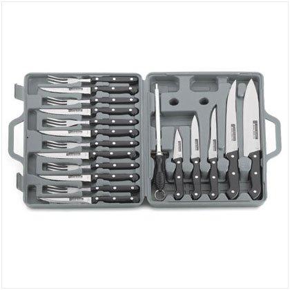 36427 19 Pc. Knife Set In Case