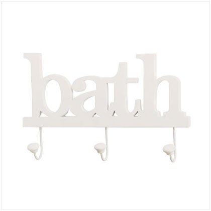 36667 Bath Clothes Hook Wall Plaque
