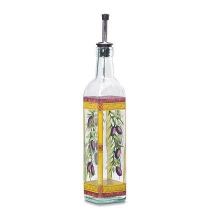 35801 MONTALCINO GLASS OIL BOTTLE